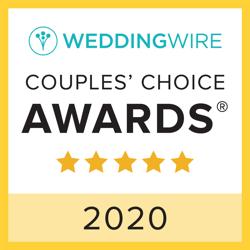 Wedding Wire Couple's Choice Award 2020 Chatham Station