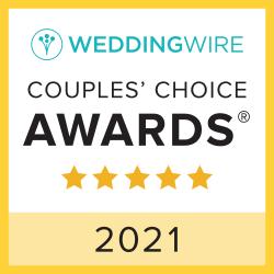 Wedding Wire Couple's Choice Award 2021 Chatham Station